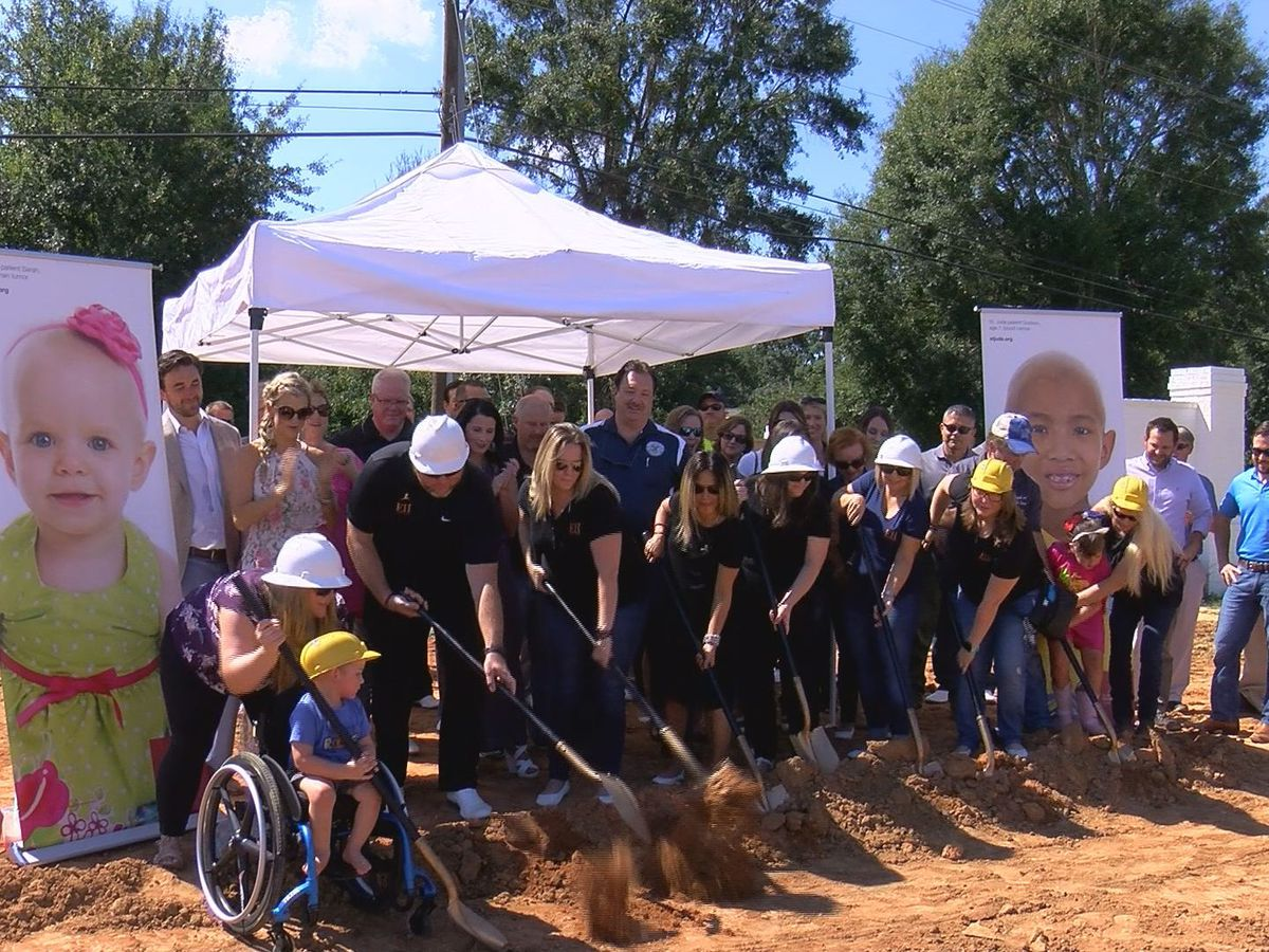 St. Jude, Elliott Homes break ground on Gulfport dream home