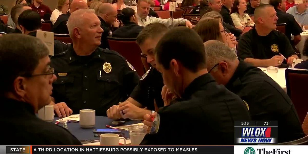 Crime Stoppers celebrates local law enforcement across South Mississippi