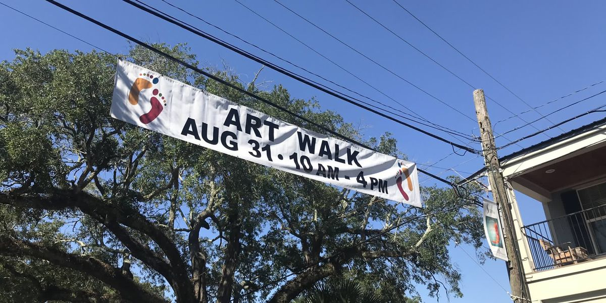 Artists, businesses gear up for Ocean Springs Artwalk