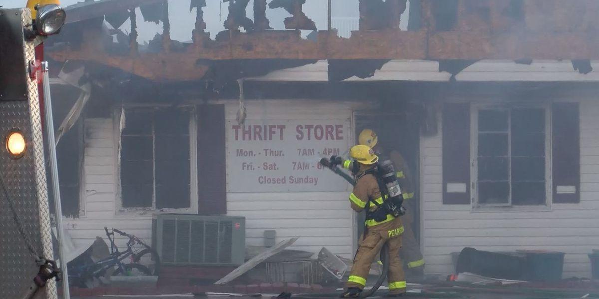 Fire destroys Gulf Coast Rescue Mission