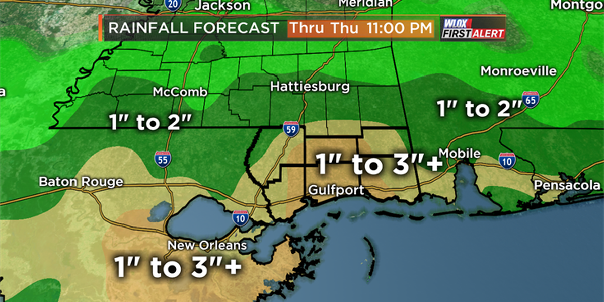FIRST ALERT: Heavy rains could trigger more flooding