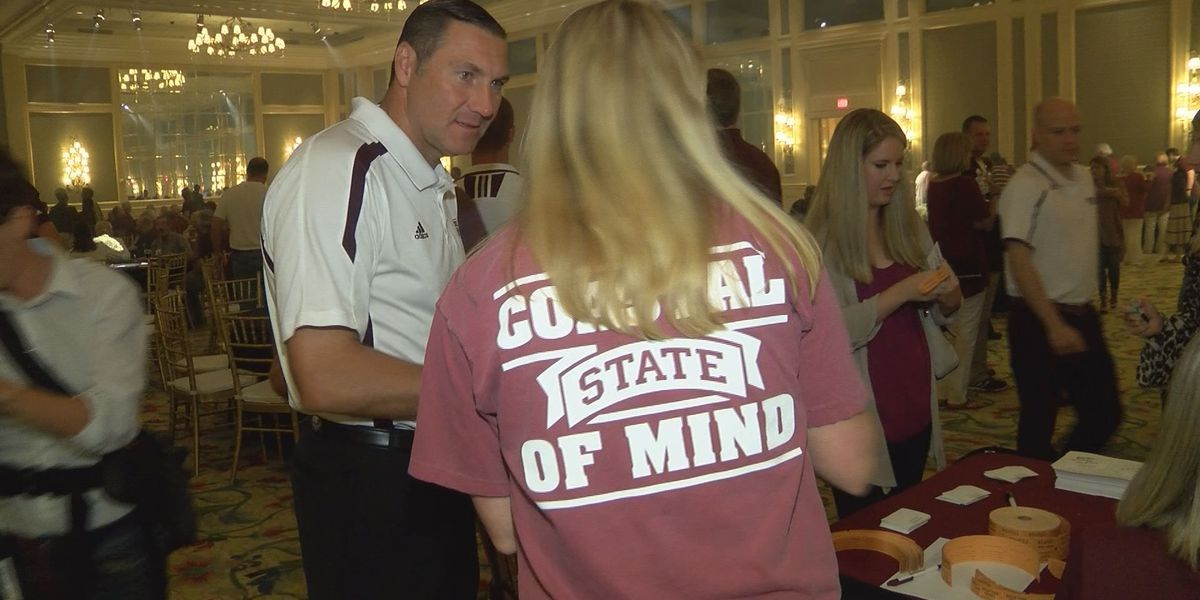 MSU Road Dawgs Tour stopped in Biloxi Tuesday night