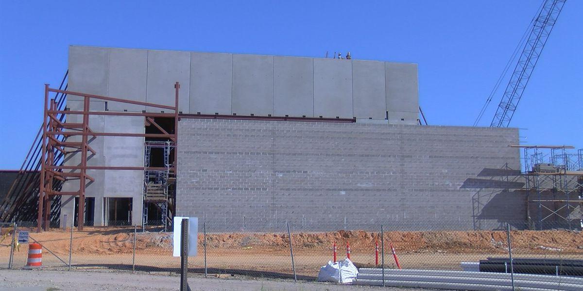 Performing Arts Center taking shape on Biloxi High campus