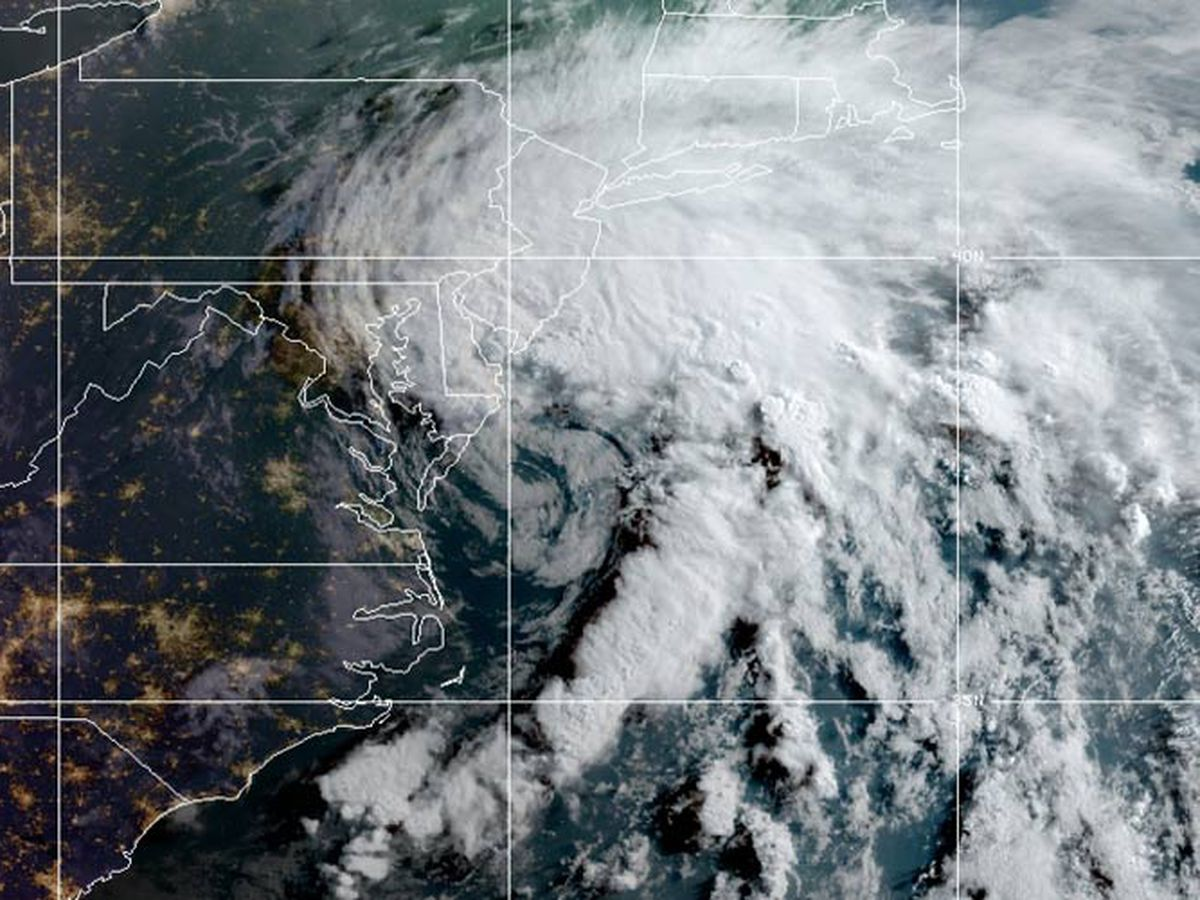 Tropical Storm Fay churns north toward NYC, New England