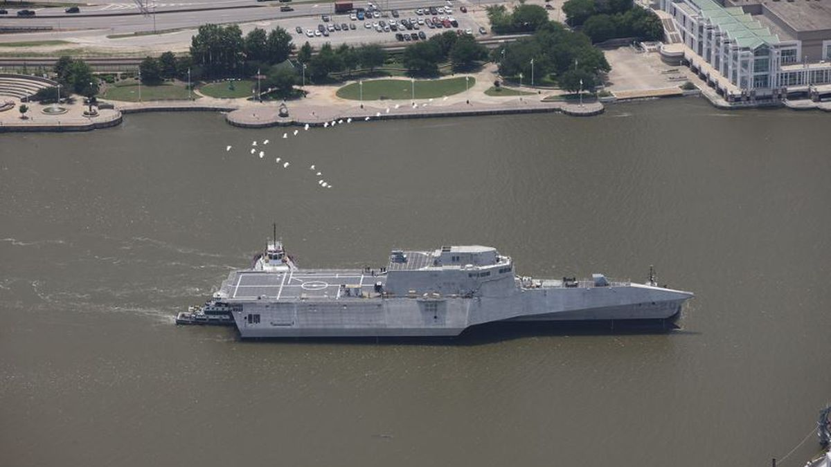 Public invited to commissioning of USS Cincinnati in Gulfport