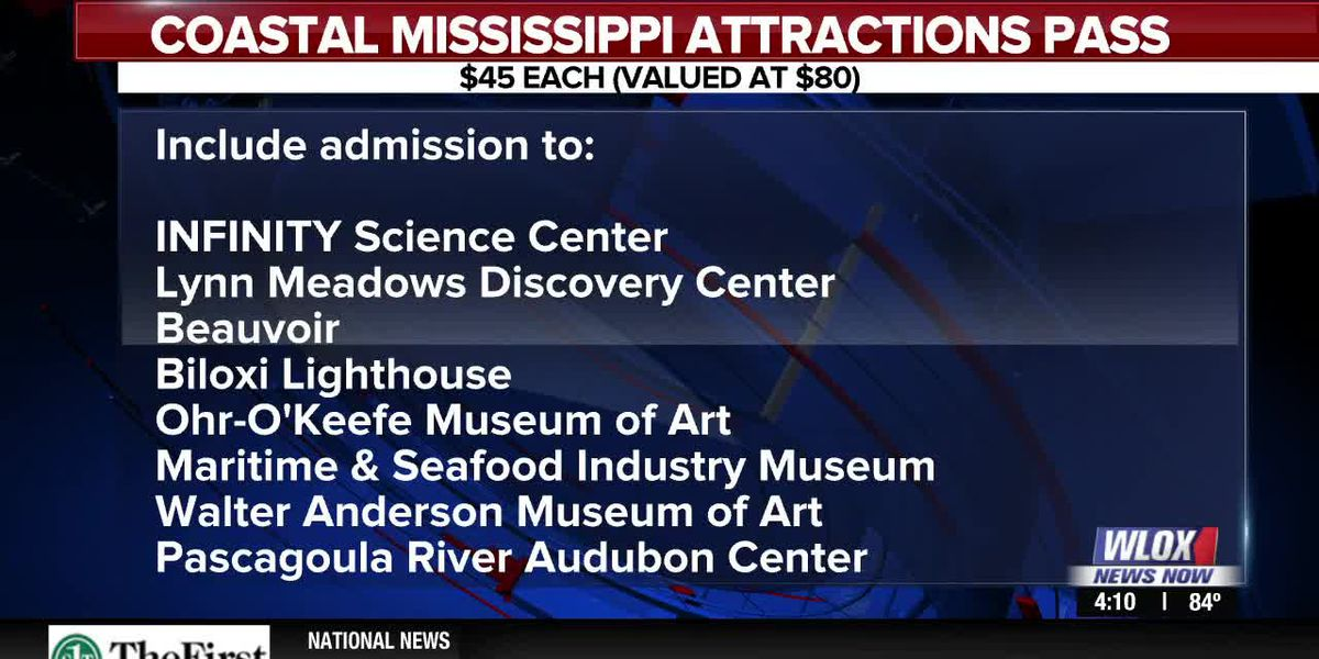 How to get your $45 Coastal Mississippi Attractions Pass