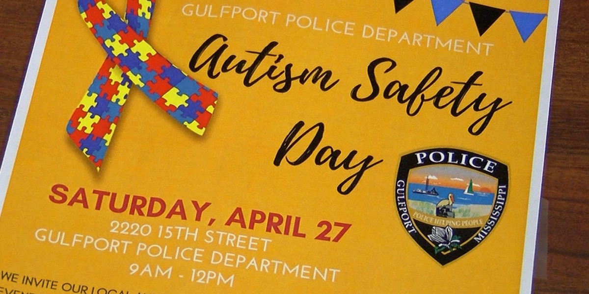 Gulfport police promote autism awareness by opening line of communication