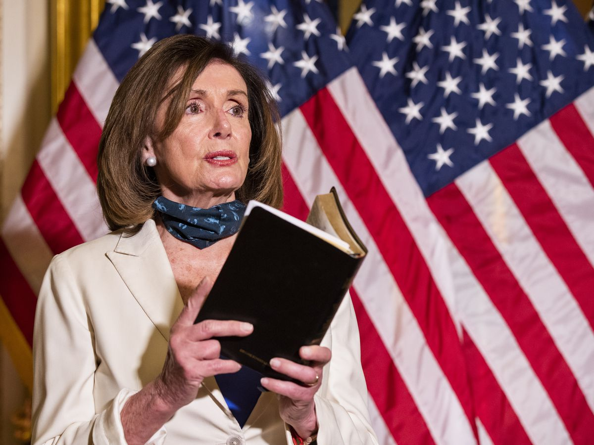 Pelosi urges Trump to be a 'healer in chief'