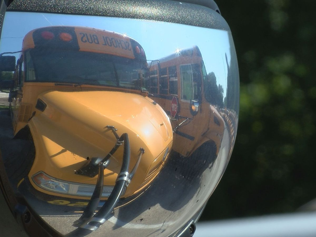Cleaning, safety protocols implemented for Gulfport, Biloxi school buses
