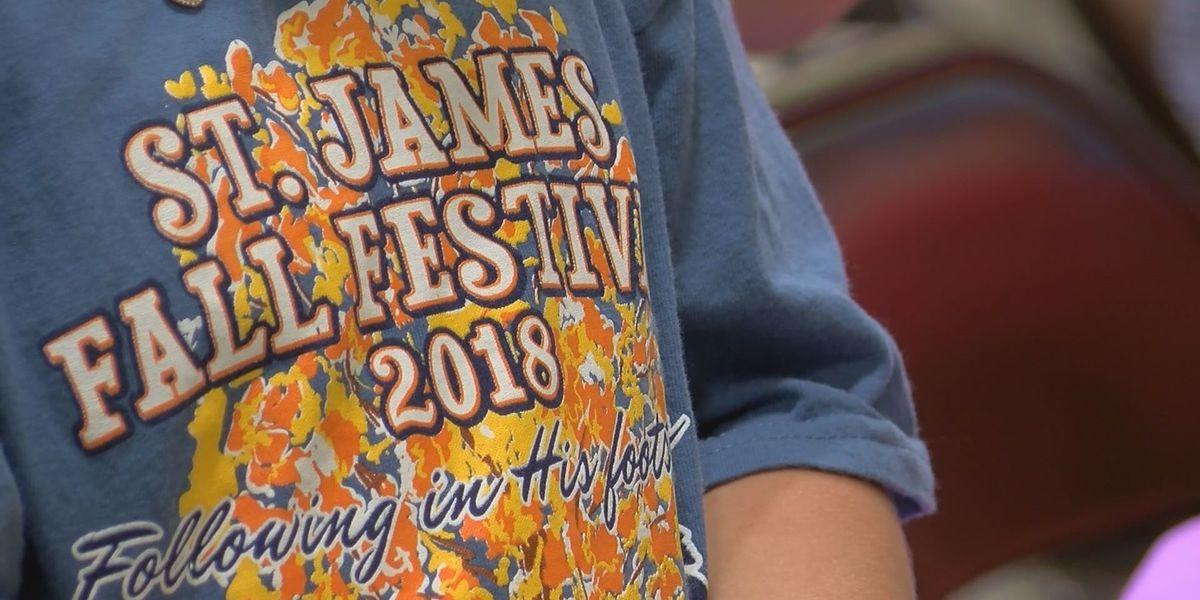 St. James Catholic hosts annual fall festival