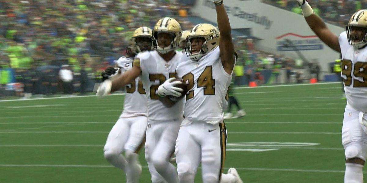 Saints fans optimistic after win against Seattle without Drew Brees