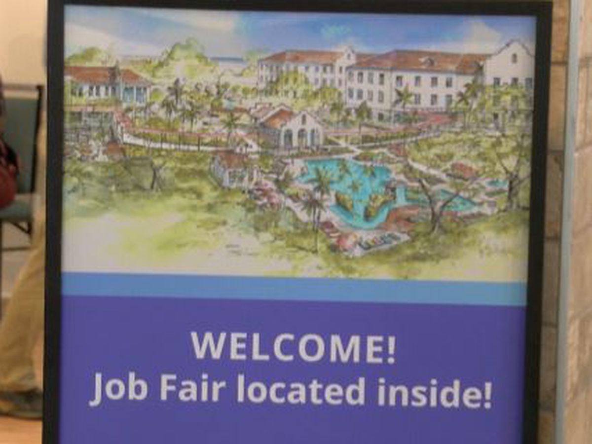 Centennial Plaza holds second job fair ahead of late-August opening