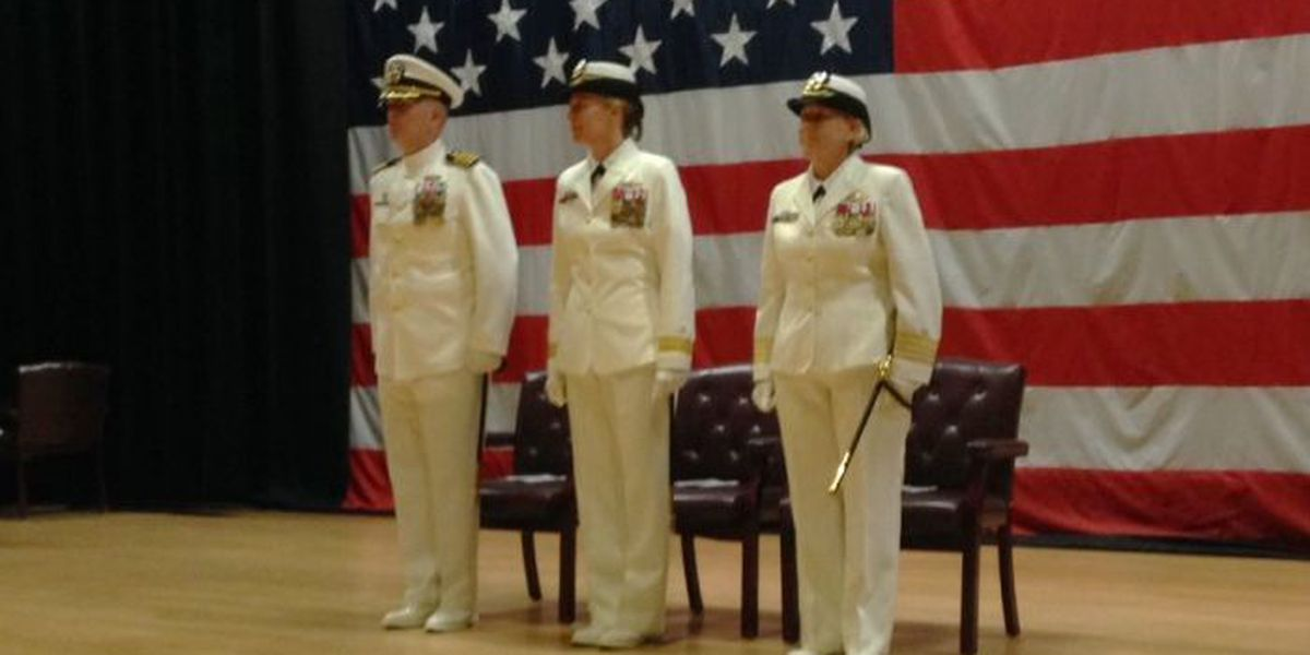 First female commander takes charge of Gulfport Seabee base