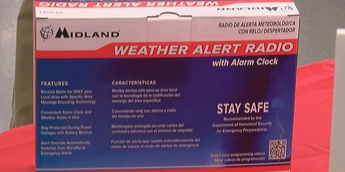 Weather radios play key role in being prepared