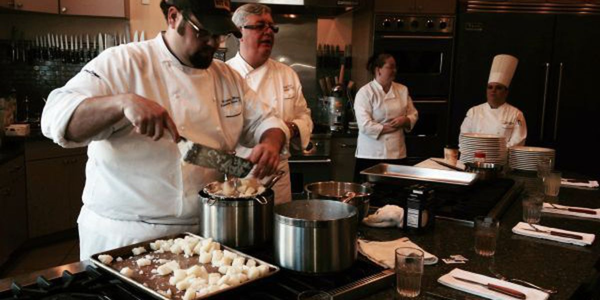 Executive chefs share time, talents, groceries to support OS cultural attraction