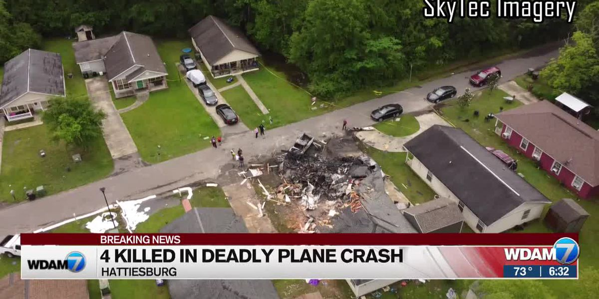 Hattiesburg, NTSB officials discuss deadly Tuesday night plane crash