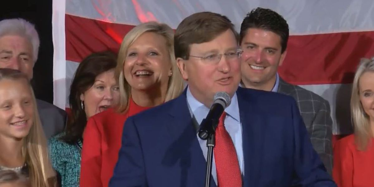 Republican Tate Reeves elected new Mississippi governor