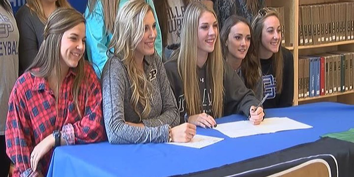 Local athletes sign letters of intent