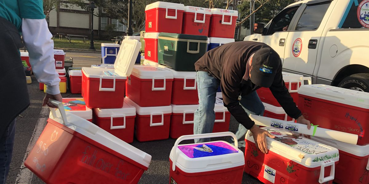 Comeback Coolers giving back for the first time at home on the Gulf Coast