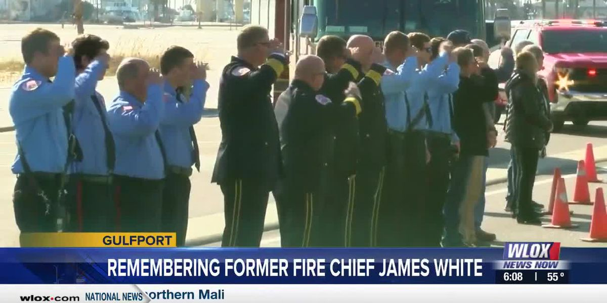 Firefighters remember former Gulfport Fire Chief James White