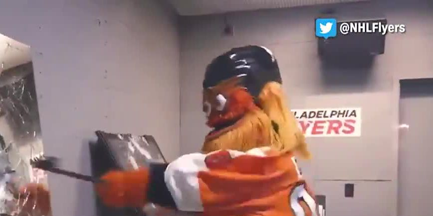 Are you angry? 'Rage room' at Philadelphia Flyers arena allows fans to smash stuff