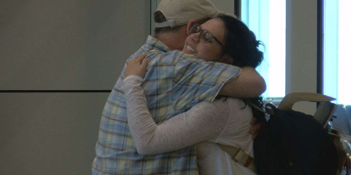 Families happy to have loved ones home for Christmas