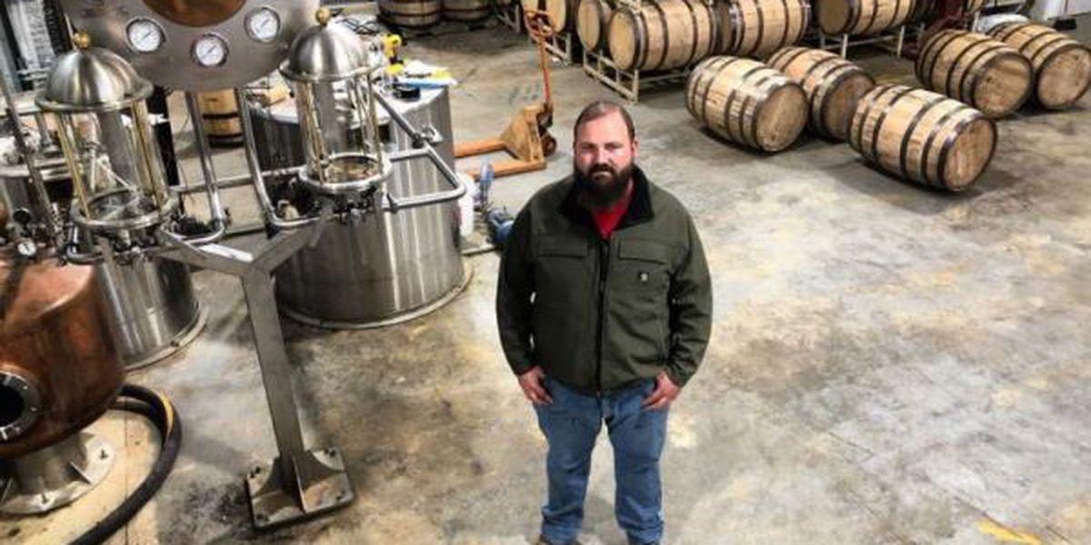 Hancock County man opening whiskey distillery