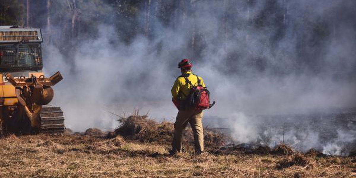 Multiple fires reported in South Mississippi
