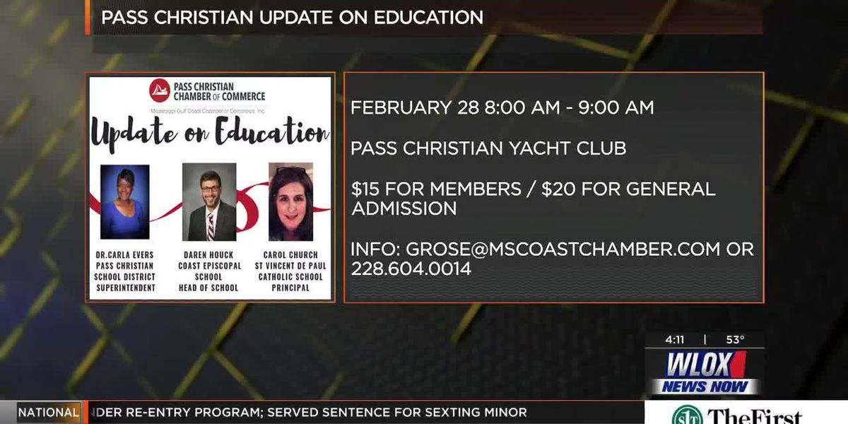 Happening Feb. 28th - Pass Christian Update on Education Breakfast
