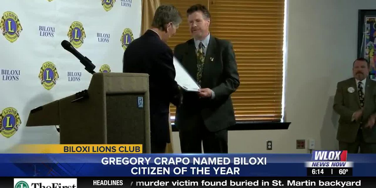 Biloxi Lions Club names Citizen of the Year