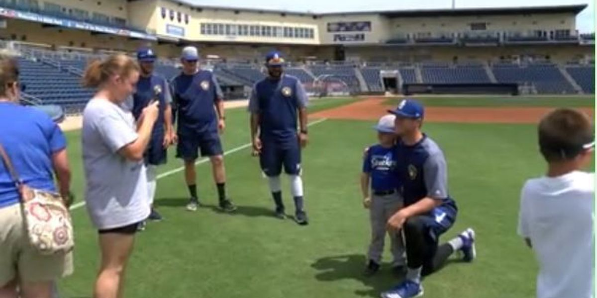 Shuckers clinic prepares to inspire more kids this month