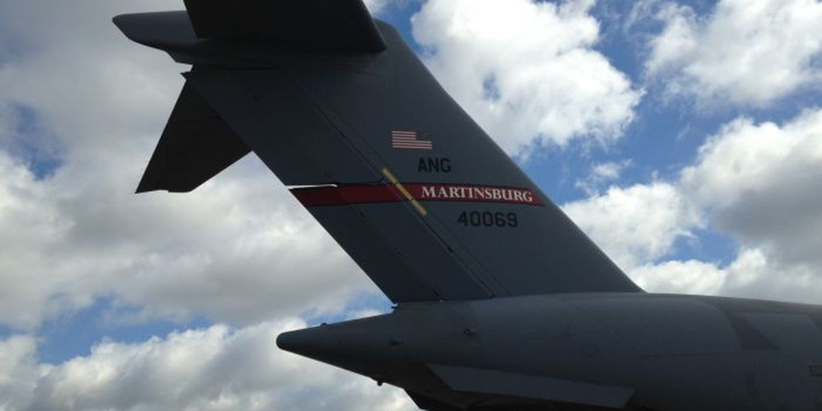 Military planes fill the skies for war games training exercise