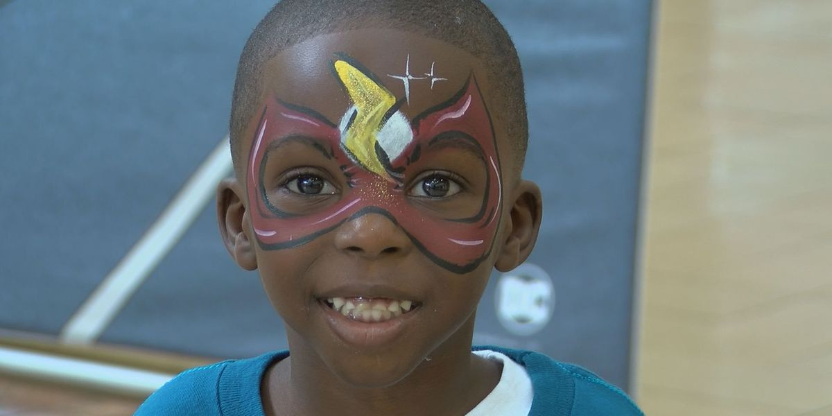 Kids' Day event at Edgewater Mall featured bike helmet giveaway