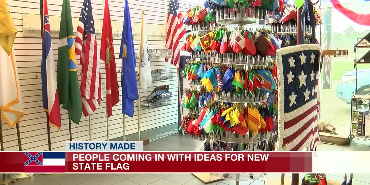 State flag flying off shelves before it's retired