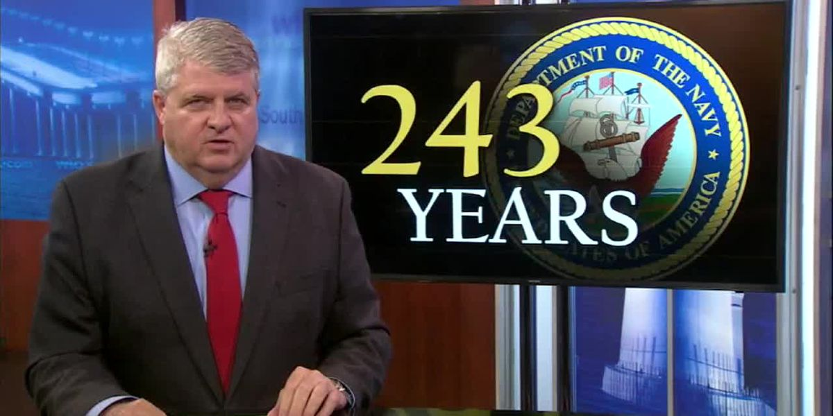 WLOX Editorial: Celebrating our Navy & its 243rd Birthday