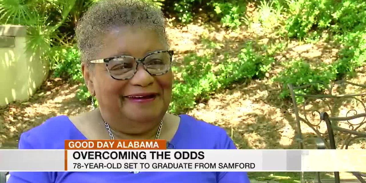 'I might try for the Master's': Defying the odds, 78-year-old inspiration earns degree from Samford