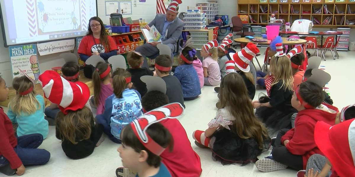 Dr. Seuss came to life during Read Across America