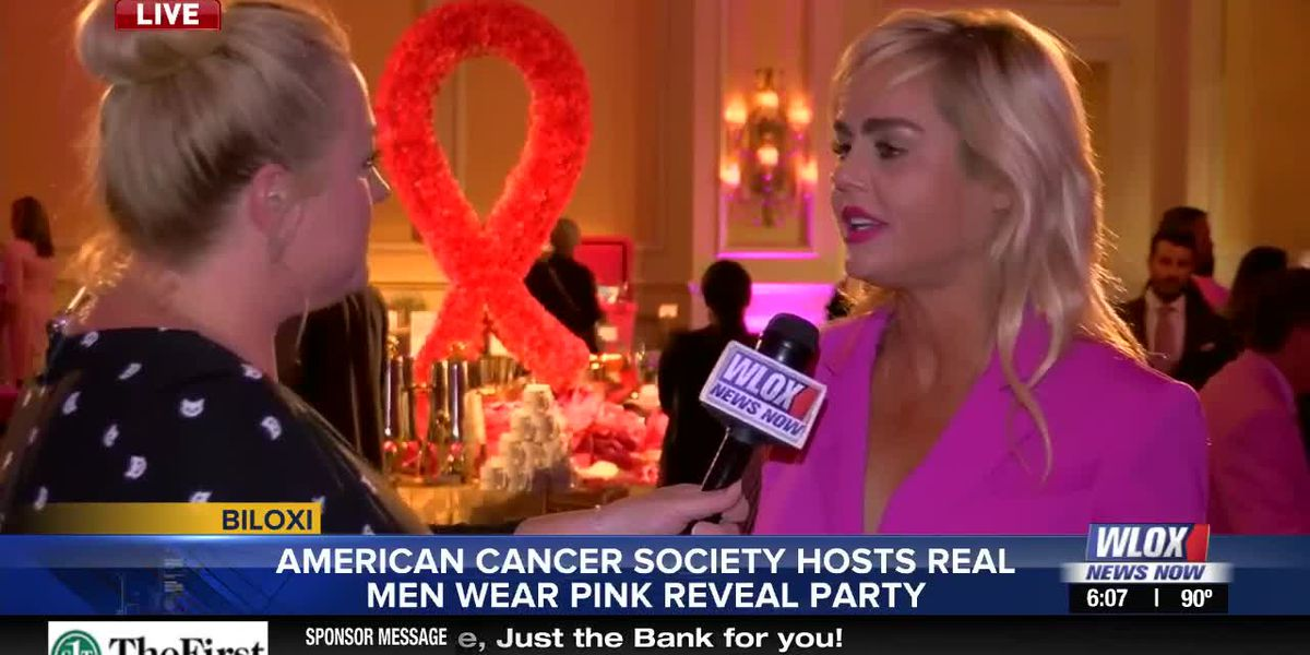 "LIVE REPORT: ""Real Men Wear Pink"" reveal party at Beau Rivage"