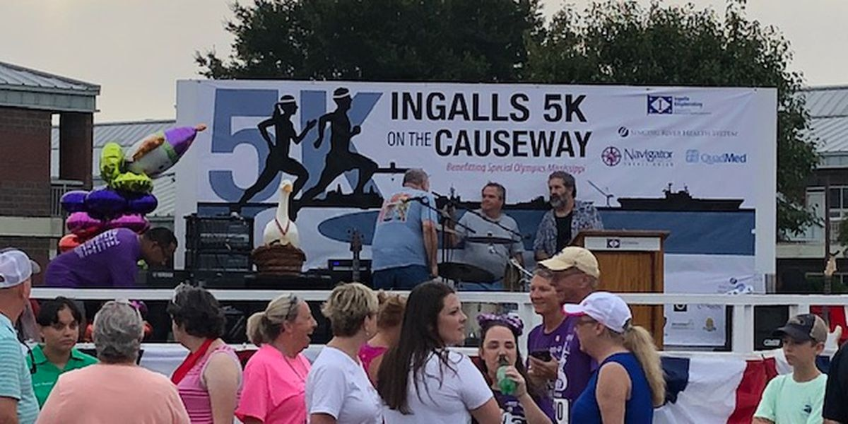 Ingalls hosts '5K on the Causeway' to benefit Special Olympics of Mississippi