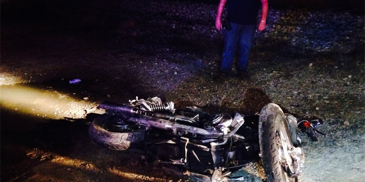 Separate overnight motorcycle accidents cause death, injury