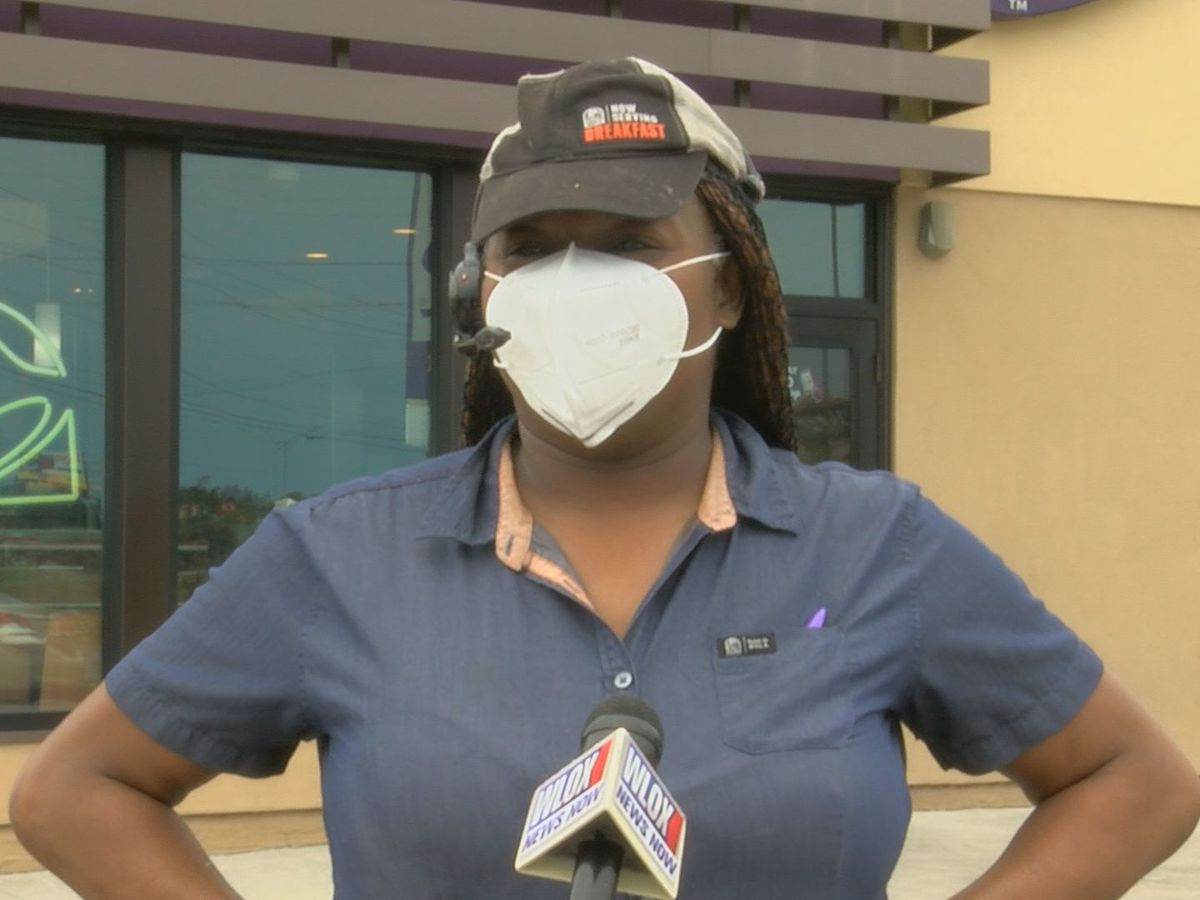 Moss Point delivers masks to employees to help businesses open up safely