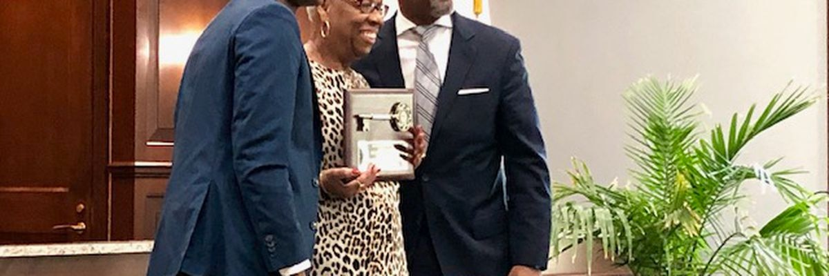 South Mississippi Strong: Moss Point native tackling race in America awarded Key to the City
