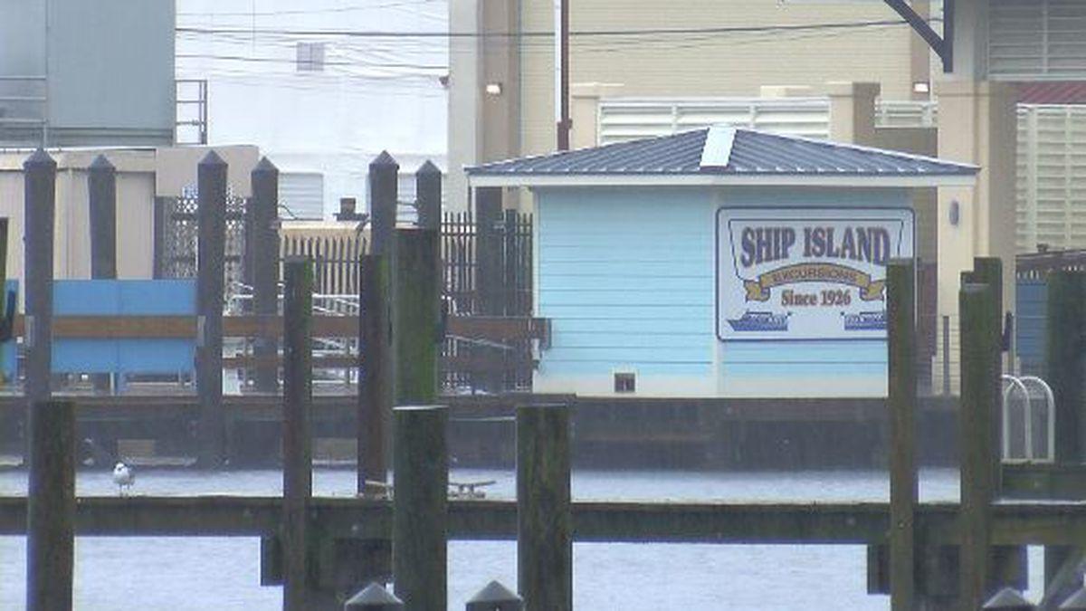 Ship Island Excursions calls it a season