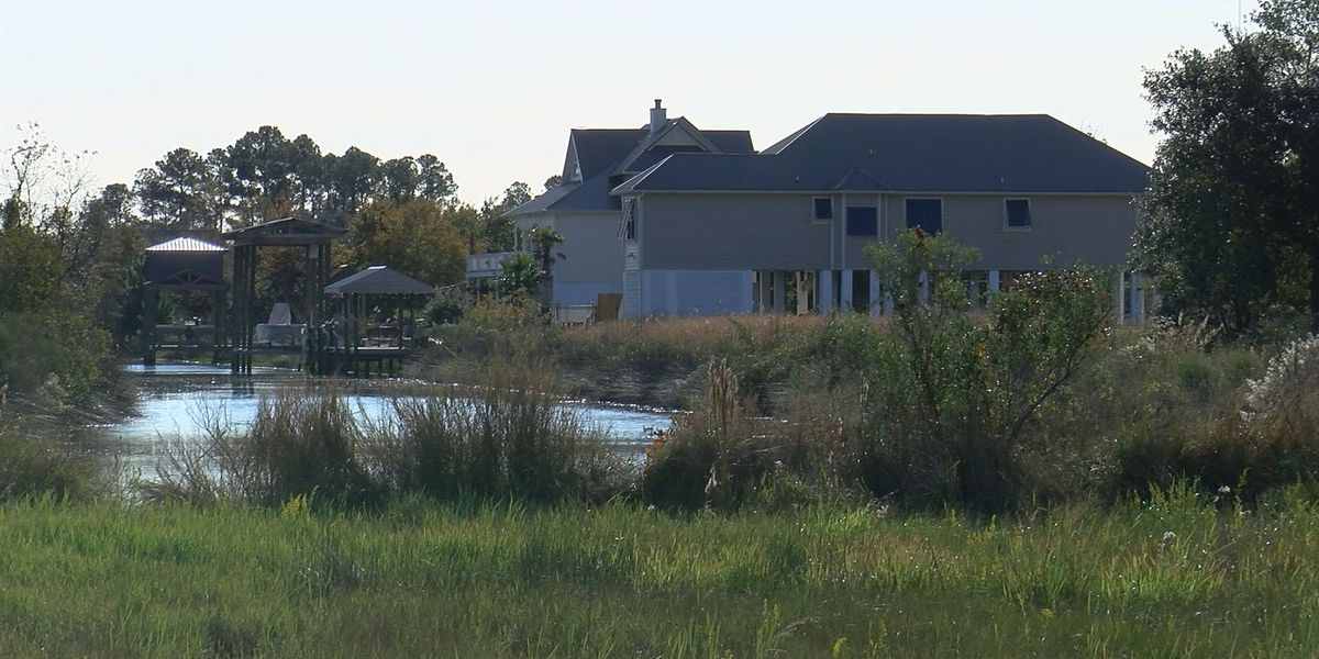 Study says rising sea levels affecting home values in Mississippi