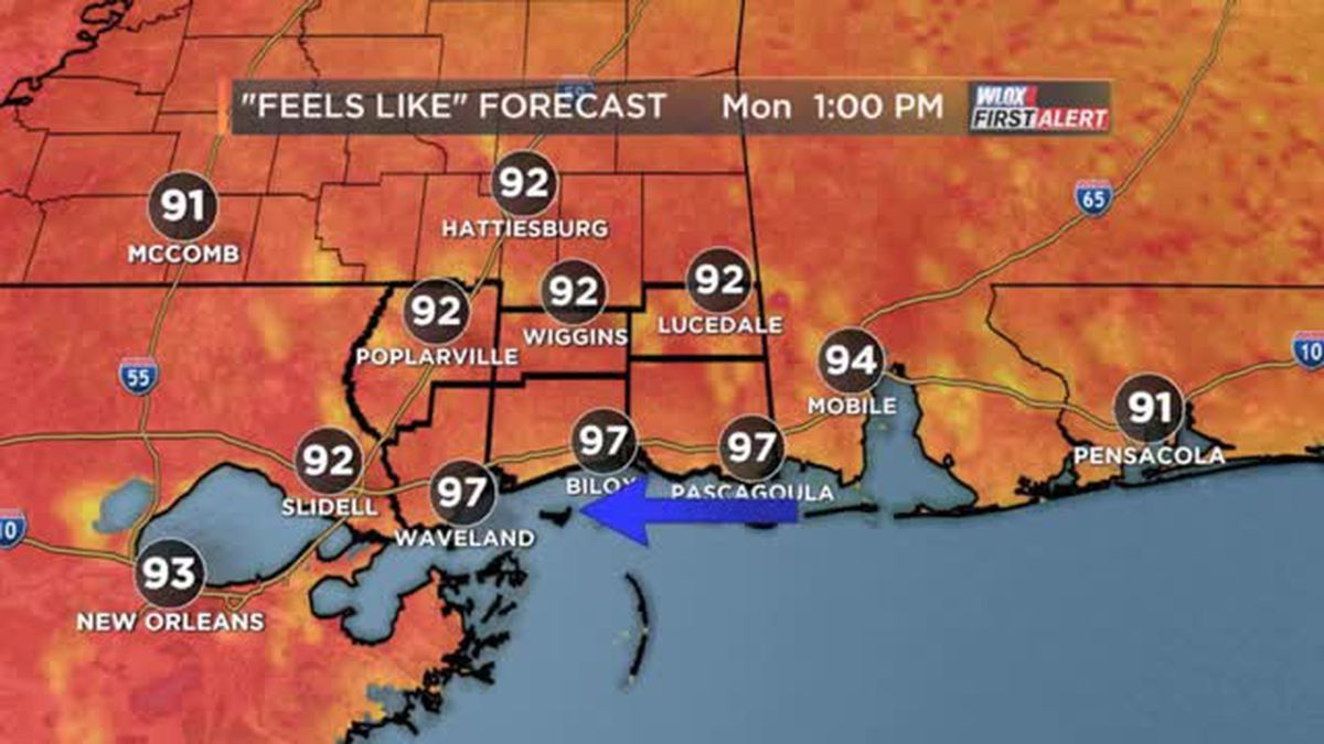 FORECAST VIDEO: 5-20-19 Becoming hot, a few showers possible