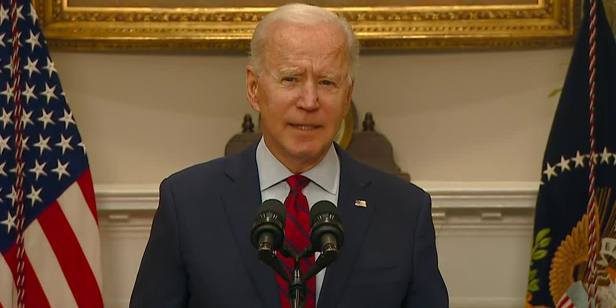 Biden comment on stimulus package