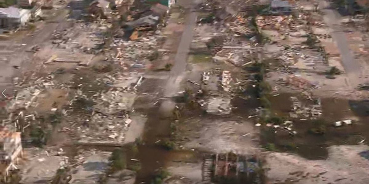 Hurricane relief donations for victims of Michael