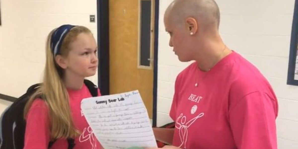 Rival schools come together to support teacher in fight against cancer