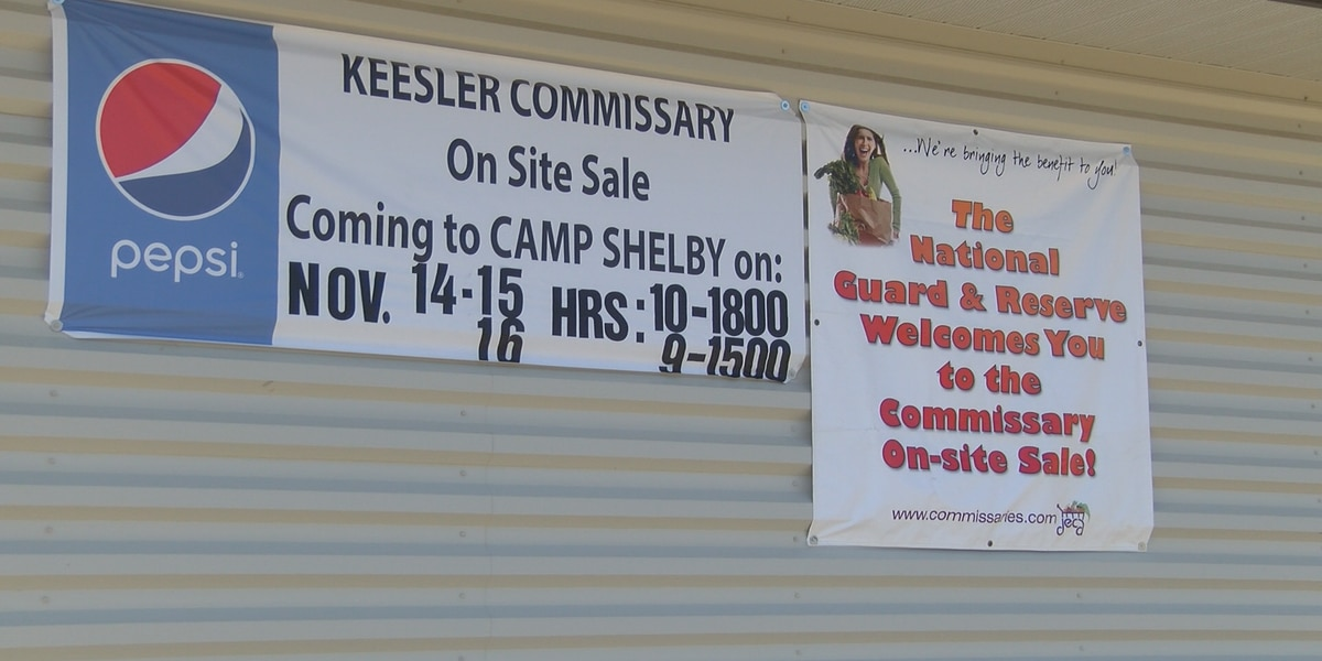 Soldiers, retired military finding bargains at Camp Shelby commissary