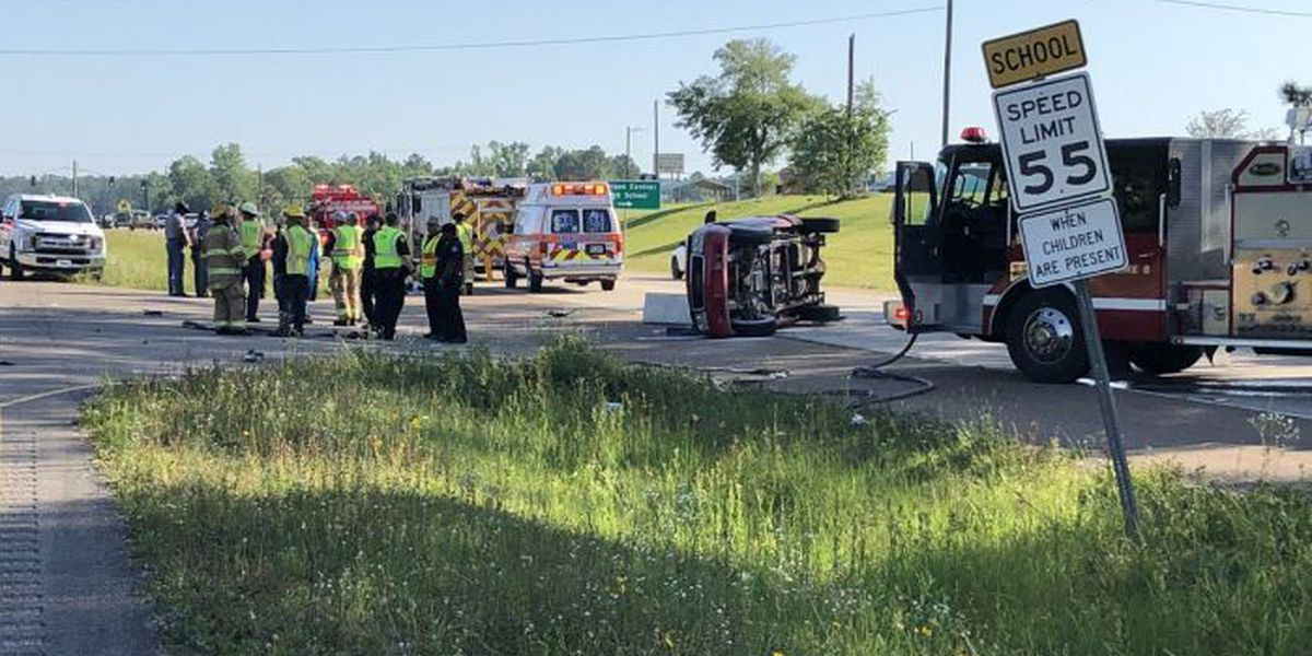 Student injured in wreck near Harrison Central